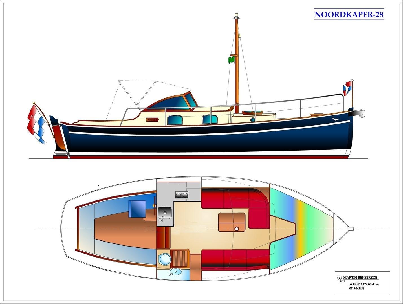 North Cape 28 MOC – NAZ-schepen
